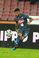 Lorenzo Insigne   durante l'incontro  di calco d Seriden A  tra SSC Napoli e US Palermo    allo stadio San Paolo di Napoli , 24 Settembre  2014