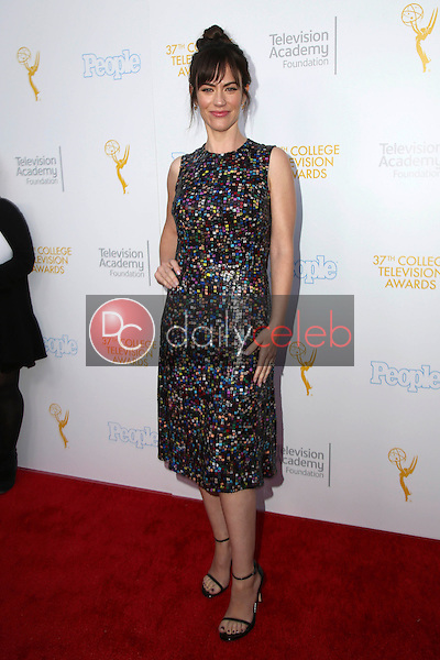 Maggie Siff<br /> at the 37th College Television Awards, Skirball Cultural Center, Los Angeles, CA 05-25-16<br /> David Edwards/Dailyceleb.com 818-249-4998