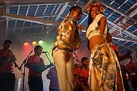 Carimbó durante o concurso Miss Cachoeira.<br /> Cachoeira do Arari, Pará, Brasil.<br /> 05/2006<br /> Foto Paulo Santos/Interfoto