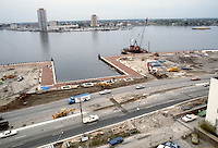 1983 April 18..Redevelopment.Downtown South (R-9)..WATERSIDE.CONSTRUCTION PROGRESS.OTTER BIRTH...NEG#.NRHA#..