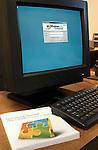 Windows monitor with keyboard
