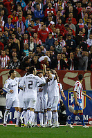 2011.03.19 Liga. At. Madrid vs Real Madrid. Party of the 29 th day of league. Real Madrid plays its continuity in the fight for the league title, with its eternal rival....
