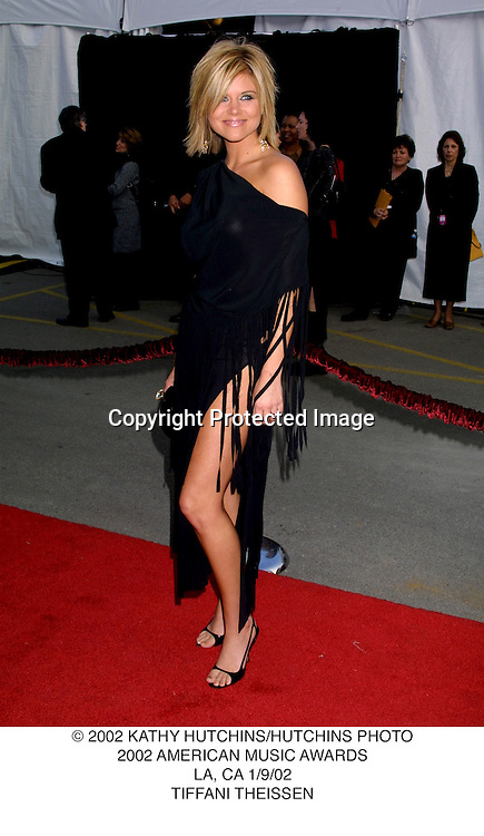 © 2002 KATHY HUTCHINS/HUTCHINS PHOTO.2002 AMERICAN MUSIC AWARDS.LA, CA 1/9/02.TIFFANI THEISSEN