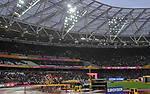 The first heat of the womens 3000m steeplechase. IAAF world athletics championships. London Olympic stadium. Queen Elizabeth Olympic park. Stratford. London. UK. 09/08/2017. ~ MANDATORY CREDIT Garry Bowden/SIPPA - NO UNAUTHORISED USE - +44 7837 394578