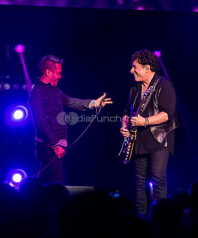 LAS VEGAS, NV - April 29: ***HOUSE COVERAGE*** JOURNEY performs night 1 of their residency at The Joint at Hard Rock Hotel & Casino in Las Vegas, NV on April 29, 2015. Credit: Erik Kabik Photography/MediaPunch