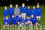 The Killarney Athletic team that played Killarney Celtic in the pouring rain in Celtic park last Friday evening
