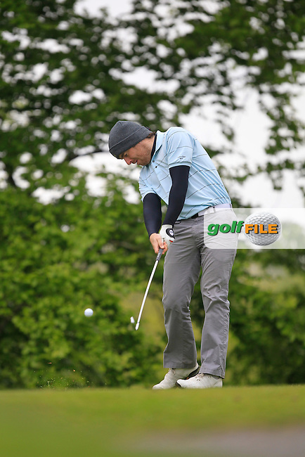 D. Coughlan (Portmarnock) on the 5th Tee during the Mullingar Scratch Trophy Day 1at Mullingar Golf Club Belvedere 18th May 2013.Picture: Thos Caffrey www.golffile.ie...