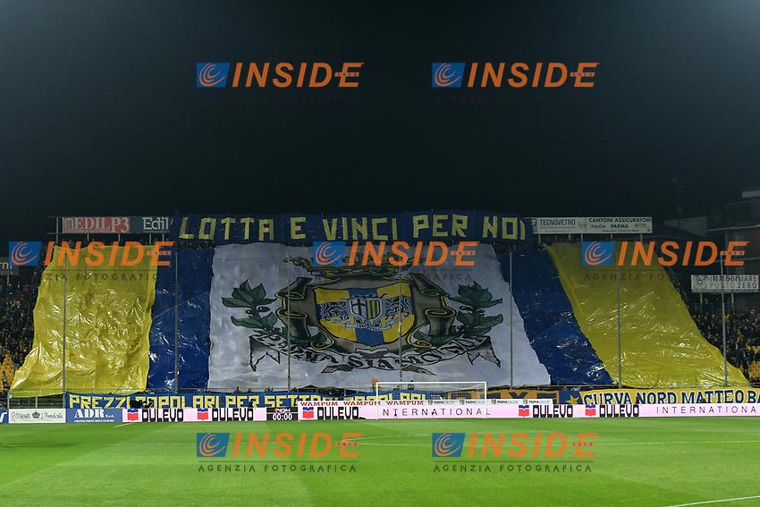 Parma fans <br /> Parma 10-11-2019 Stadio Ennio Tardini <br /> Football Serie A 2019/2020 <br /> Parma Calcio - AS Roma <br /> Photo Andrea Staccioli / Insidefoto