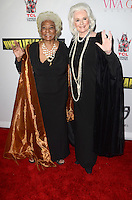 "HOLLYWOOD, CA - SEPTEMBER 7: Nichelle Nichols and Celeste Yarnall at the ""Unbelievable!!!"" Premiere and Star Trek 50th Anniversary event, at the TCL Chinese 6 in Hollywood, California on September 7, 2016. Credit: David Edwards/MediaPunch"