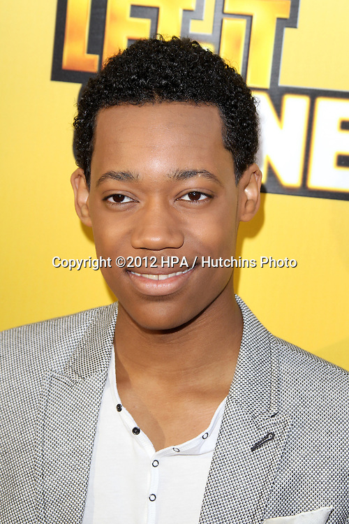 """LOS ANGELES - JUN 5:  Tyler James Williams arriving at the Premiere Of Disney Channel's .""""Let It Shine"""" at DGA Theater on June 5, 2012 in Los Angeles, CA"""