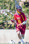 Los Angeles, CA 04/01/16 - Dillon Carlin (USC #6) in action during the University of Southern California and Loyola Marymount University SLC conference game  USC defeated LMU.