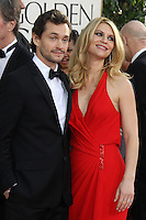 BEVERLY HILLS, CA - JANUARY 13: Hugh Dancy and Claire Danes at the 70th Annual Golden Globe Awards at the Beverly Hills Hilton Hotel in Beverly Hills, California. January 13, 2013. Credit: mpi29/MediaPunch Inc. /NortePhoto
