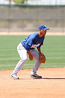 Ivan DeJesus Jr, Los Angeles Dodgers 2010 minor league spring training..Photo by:  Bill Mitchell/Four Seam Images.