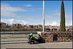 SAN MAURO - Lungo fiume Piazzale Europa