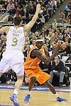 17.02.2012 Palau ST. Jordi , Barcelona. España.Copa del Rey cuartos de final Rela Madrid - Mad Croc