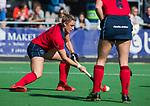 AMSTELVEEN  - Lieke van Wijk (Lar), hoofdklasse hockeywedstrijd dames Pinole-Laren (1-3). COPYRIGHT  KOEN SUYK