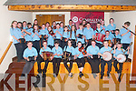 Lixnaw Feile : The Ceolteori na Ceolann U/12 ad the Oga Na Cheile bands pictured prior to their concert in Lixnaw on Saturday night.