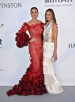 Singer Katy Perry &amp; Georgina Simpson at the amfAR Cinema Against AIDS Gala 2016 at the Hotel du Cap d'Antibes.<br /> May 19, 2016  Antibes, France<br /> Picture: Paul Smith / Featureflash