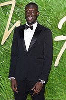 Stormzy<br /> arriving for The Fashion Awards 2017 at the Royal Albert Hall, London<br /> <br /> <br /> &copy;Ash Knotek  D3356  04/12/2017