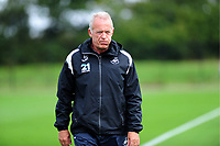Alan Curtis, assistant coach for Swansea during the Swansea City Training Session at The Fairwood Training Ground, Wales, UK. Tuesday 11th September 2018