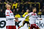 10.02.2018, Signal Iduna Park, Dortmund, GER, 1.FBL, Borussia Dortmund vs Hamburger SV, <br /> <br /> im Bild | picture shows:<br /> <br /> Bobby Wood (Hamburger SV #7) entt&auml;uscht, <br /> <br /> Foto &copy; nordphoto / Rauch