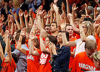 Virginia fans during the game Saturday, February 22, 2014,  in Charlottesville, VA. Virginia won 70-49.