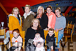 The McCarthy family from Tralee celebrating Kathleen McCarthy's birthday in Restaurant Uno on Thursday evening last.  Seated l-r, Marissa, Kathleen, baby Diamond and Son. Standing l-r, Geraldine, Caroline, Tanya, Aisling and Diane McCarthy.