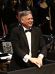 """Composer Kevin Stites during the Manhattan Concert Productions 25th Anniversary concert performance of """"Crazy for You"""" at David Geffen Hall, Lincoln Center on February 19, 2017 in New York City."""