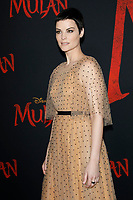 """LOS ANGELES - MAR 9:  Jaimie Alexander at the """"Mulan"""" Premiere at the Dolby Theater on March 9, 2020 in Los Angeles, CA"""