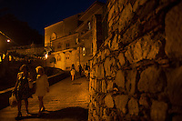 SAVOCA NELLA FOTO IL PAESE NOTTURNO GEOGRAFICO SAVOCA 12/08/2014 FOTO MATTEO BIATTA<br /> <br /> SAVOCA IN THE PICTURE THE TOWN BY NIGHT GEOGRAPHIC SAVOCA 12/08/2014 PHOTO BY MATTEO BIATTA