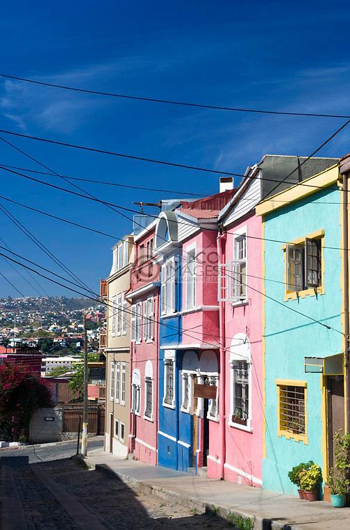 HOUSES SAN ENRIQUE  CERRO ALEGRE VALPARAISO CHILE
