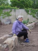 Joan's garden rebuilt: 2010, 2011, 2012
