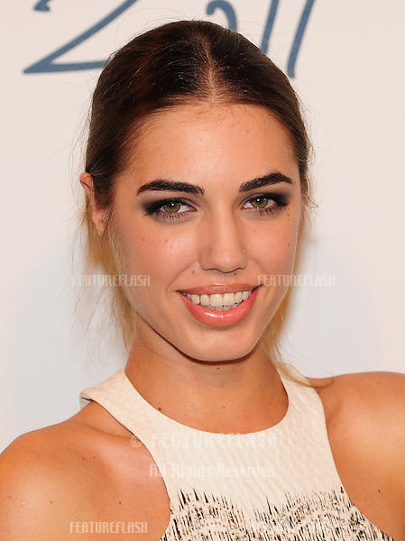 Amber Le Bon arriving for the 2011 British Fashion Awards, at The Savoy, London. 28/11/2011 Picture by: Simon Burchell / Featureflash