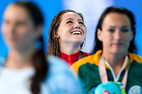 Picture by Alex Whitehead/SWpix.com - 07/04/2018 - Commonwealth Games - Swimming - Optus Aquatics Centre, Gold Coast, Australia - Molly Renshaw of England wins Silver in the Women's 200m Breaststroke final.
