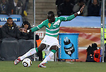 20 JUN 2010: Ismael Tiote (CIV). The Brazil National Team defeated the C'ote d'Ivoire National Team 3-1 at Soccer City Stadium in Johannesburg, South Africa in a 2010 FIFA World Cup Group G match.