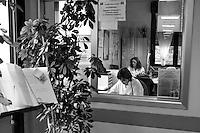 Milano: dottori del reparto di malattie infettive dell'Ospedale Sacco.<br /> <br /> <br /> Milan: Department of Infectious Diseases Sacco Hospital.