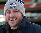 Colin Shank (UNH - Assistant AD-Hockey Ops) - The University of New Hampshire Wildcats practiced at Fenway on Friday, January 13, 2017, in Boston, Massachusetts.