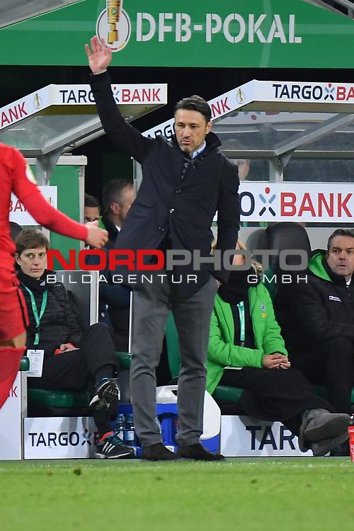 25.04.2017, Borussia-Park, Moenchengladbach, GER, DFB Pokal Halbfinale, Borussia Moenchengladbach vs Eintracht Frankfurt<br /> <br /> im Bild / picture shows: <br /> Niko Kovac Trainer (Eintracht Frankfurt),<br /> <br /> <br /> <br /> Foto &copy; nordphoto / Meuter