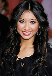 "LOS ANGELES, CA. - October 16: Actress Brenda Song arrives at the Los Angeles Premiere of ""High School Musical 3"" at the Galen Center at the University Of Southern California on October 16, 2008 in Los Angeles, California."