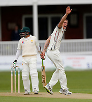 Harry Podmore of Kent appeals during day 1 of the four day tour match between Kent CCC and Pakistan at the St Lawrence Ground, Canterbury, on Sat April 28, 2018