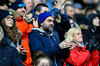 Blackburn Rovers fans applaud their side<br /> <br /> Photographer Alex Dodd/CameraSport<br /> <br /> The EFL Sky Bet Championship - Blackburn Rovers v Hull City - Saturday 26th January 2019 - Ewood Park - Blackburn<br /> <br /> World Copyright © 2019 CameraSport. All rights reserved. 43 Linden Ave. Countesthorpe. Leicester. England. LE8 5PG - Tel: +44 (0) 116 277 4147 - admin@camerasport.com - www.camerasport.com
