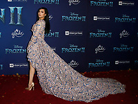 Hollywood, CA - NOV 07:  Sofia Carson attends the world premiere of Disney's 'Frozen II' at the Dolby Theatre on November 7, 2019 in Los Angeles CA.   <br /> CAP/MPI/IS<br /> ©IS/MPI/Capital Pictures