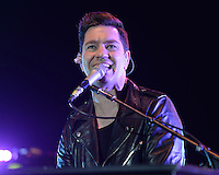 BOCA RATON, FL - NOVEMBER 09: Andy Grammer performs at the Mizner Park Amphitheatre on November 9, 2016 in Boca Raton, Florida. Credit: mpi04/MediaPunch