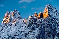 Liberty Bell Mountain<br /> Washington Pass<br /> Okanogan National Forest<br /> North Cascade Range, Washington