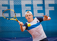 Amstelveen, Netherlands, 1 August 2020, NTC, National Tennis Center, National Tennis Championships, Men's final: Jesper de Jong (NED)<br /> Photo: Henk Koster/tennisimages.com