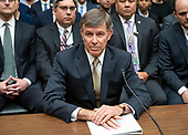 Vice Admiral Joseph Maguire (US Navy retired), acting Director of National Intelligence, waits to give testimony before the US House Permanent Select Committee on Intelligence on the  Whistleblower Complaint on Capitol Hill in Washington, DC on Thursday, September 26, 2019.<br /> Credit: Ron Sachs / CNP<br /> (RESTRICTION: NO New York or New Jersey Newspapers or newspapers within a 75 mile radius of New York City)