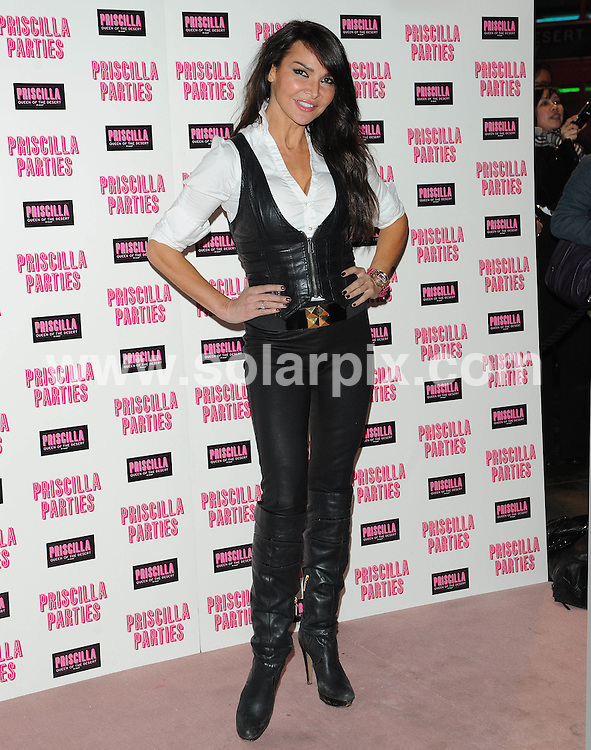 **ALL ROUND PICTURES FROM SOLARPIX.COM**                                             **WORLDWIDE SYNDICATION RIGHTS**                                                                                  Caption: Outside arrivals at the Priscilla Parties Launch event. Held at The Palace Theatre, Shaftesbury Avenue, London, UK.  January 24, 2011.                                                                              This pic: Lizzi Cundy                                                                                   JOB REF: 12708 SSD       DATE: 24_01_2011                                                           **MUST CREDIT SOLARPIX.COM OR DOUBLE FEE WILL BE CHARGED**                                                                      **MUST AGREE FEE BEFORE ONLINE USAGE**                               **CALL US ON: +34 952 811 768 or LOW RATE FROM UK 0844 617 7637**