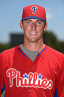 GCL Phillies pitcher Brandon Leibrandt (37) poses for a photo after a game against the GCL Pirates on June 26, 2014 at the Carpenter Complex in Clearwater, Florida.  GCL Phillies defeated the GCL Pirates 6-2.  (Mike Janes/Four Seam Images)