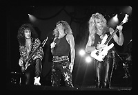 David Coverdale, Adrian Vandenberg and Vivian Cambell and Whitesnake performs at Madison Square Garden in New York US