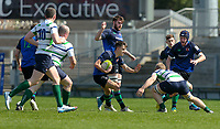 Monday 22nd April 2019 | 2019 McCrea Cup Final<br /> <br /> Mark Gordon during the McCrea Cup final between Queens 2s and Grosvenor at Kingspan Stadium, Ravenhill Park, Belfast. Northern Ireland. Photo John Dickson/Dicksondigital